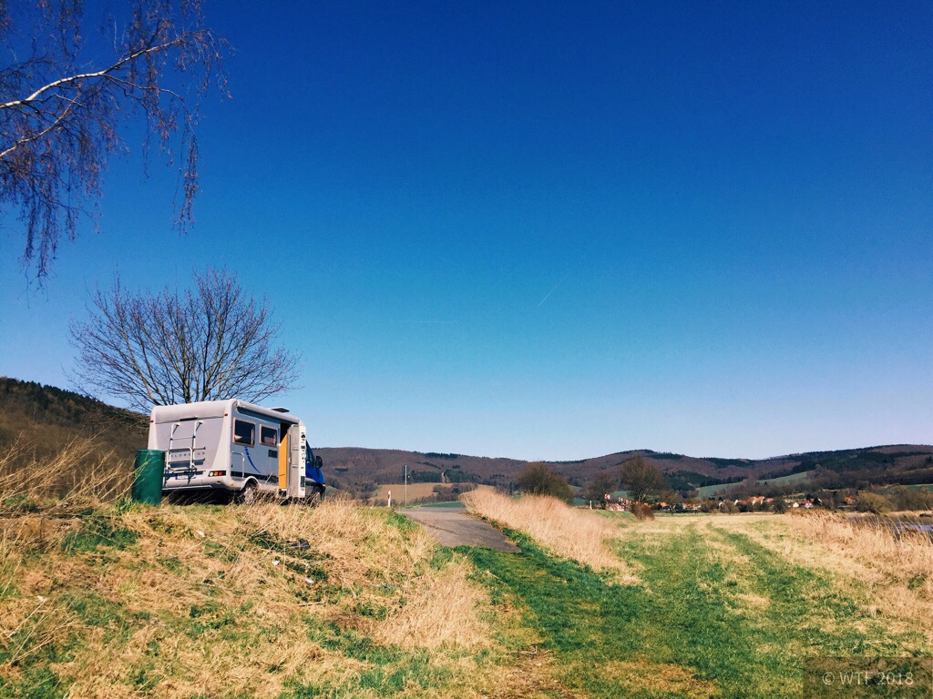 Mit Wohnmobil durch Thüringen